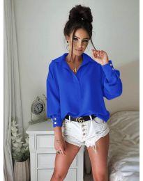 Košeľa - kód 9898 - modrý