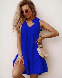 Šaty - kód 7206 - modrá