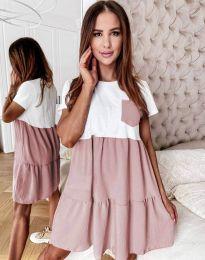 Šaty - kód 2506 - pudrová