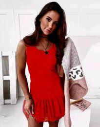 Šaty - kód 2994 - červená