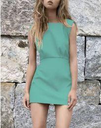 Šaty - kód 1233 - tyrkysová
