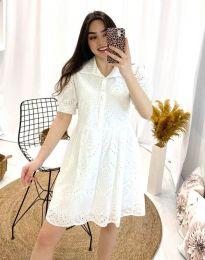 Šaty - kód 0517 - 1 - biela