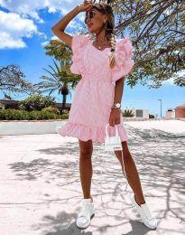 Šaty - kód 2657 - 6 - ružová
