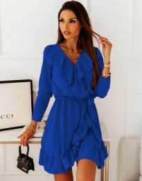 Šaty - kód 0578 - 4 - modrá