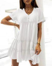Šaty - kód 7205 - biela