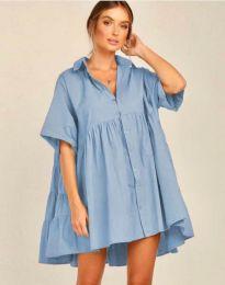 Šaty - kód 6464 - svetlo modrá