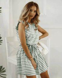 Šaty - kód 7211 - olivovo zelená