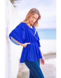 Tričko - kód 504 - modrý