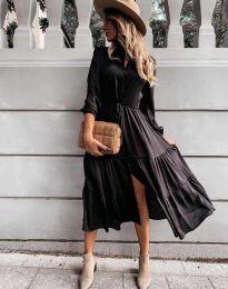 Šaty - kód 6522 - čierná
