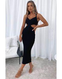 Šaty - kód 111938 - čierná