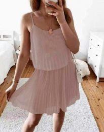 Šaty - kód 8596 - pudrová