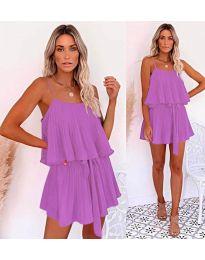 Šaty - kód 721 - fialová