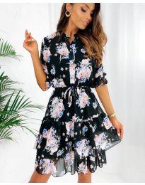 Šaty - kód 8877 - 2 - viacfarebné