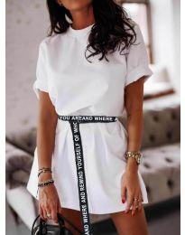Šaty - kód 809 - biela