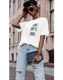 Tričko - kód 963 - biela