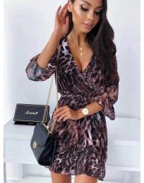 Šaty - kód 7677 - 1 - viacfarebné