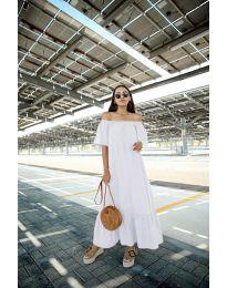 Šaty - kód 3636 - biela