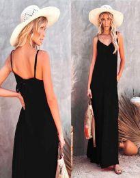 Šaty - kód 4673 - čierná