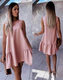 Šaty - kód 3456 - pudrová