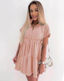 Šaty - kód 8889 - ružová