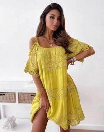 Šaty - kód 6954 - žltá