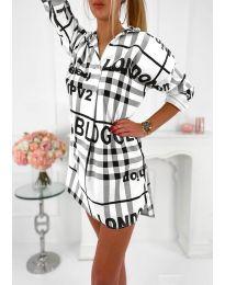 Šaty - kód 5456 - biela