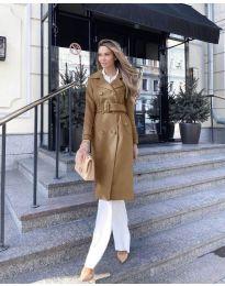 Kabát - kód 213 - hnedá