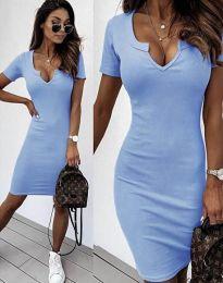 Šaty - kód 2202 - svetlo modrá