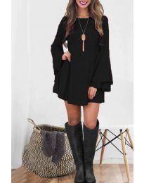 Šaty - kód 8102 - čierná