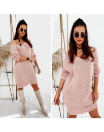 Šaty - kód 6457 - ružová