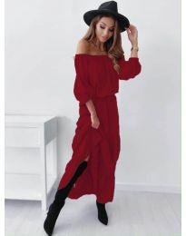 Šaty - kód 1317 - bordeaux
