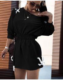 Šaty - kód 7470 - čierná
