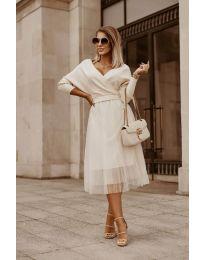 Šaty - kód 9994 - biela