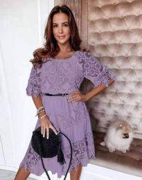 Šaty - kód 6979 - fialová