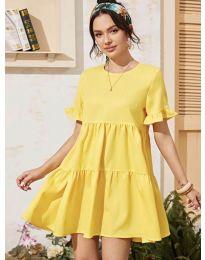 Šaty - kód 0033 - žltá