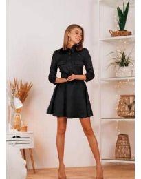 Šaty - kód 6619 - čierná