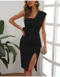 Šaty - kód 6153 - čierná