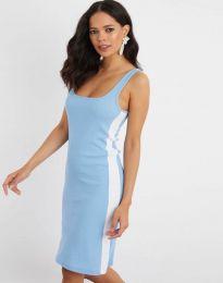 Šaty - kód 1253 - svetlo modrá