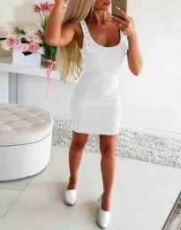 Šaty - kód 0711 - 2 - biela