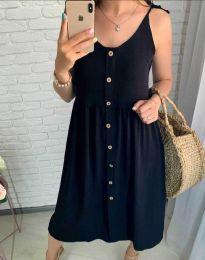 Šaty - kód 1472 - 1 - čierná