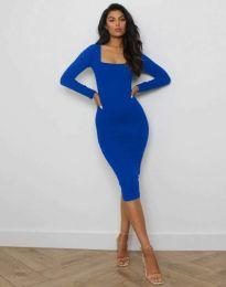 Šaty - kód 4802 - modrý