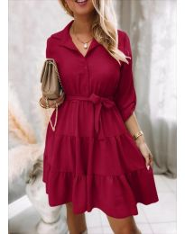 Šaty - kód 6970 - bordeaux