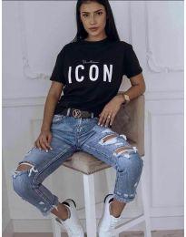 Tričko - kód 903 - čierná