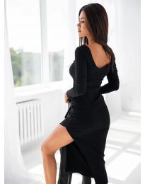Šaty - kód 12070 - čierná
