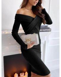 Šaty - kód 6130 - čierná