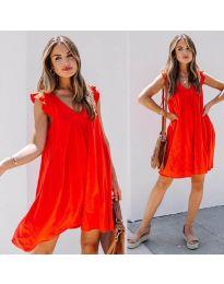 Šaty - kód 5090 - červená