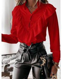 Košeľa - kód 9032 - červená