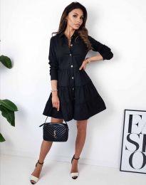 Šaty - kód 3852 - čierná