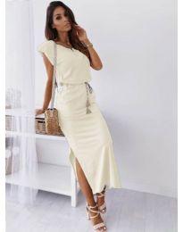 Šaty - kód 6622 - biela