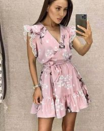 Šaty - kód 8125 - ružová